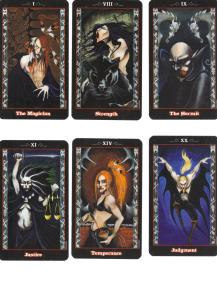 Blood Tarot Major Arcana 001