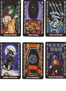 Blood Tarot Minor Arcana 002